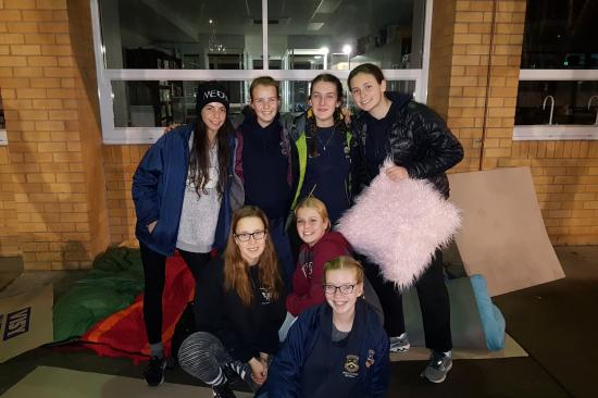 2018 Merici Vinnies Sleepout